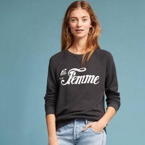 La Femme Sol Angeles x Anthropologie Sweatshirt